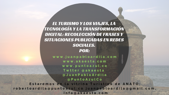 Turismo Transformación Digital